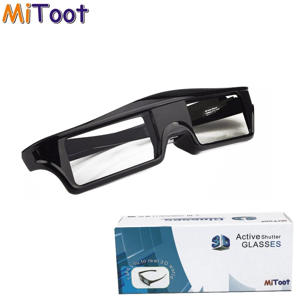 hz para Sony Mitoot Obturador Ativo Bluetooth rf 3d Óculos 480 Samsung tv Epson Projetor Tw5350 – Tw5200 5300 5030ub 5040ub 4 Pcs