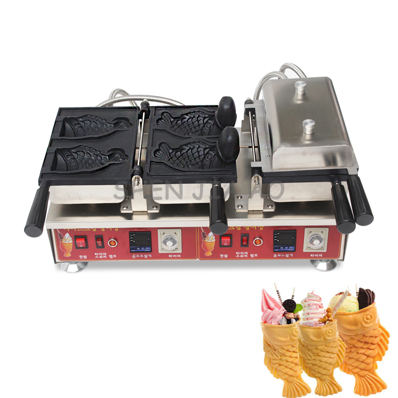 Digital display electric heat open snapper fish burning machine commercial ice cream snapper bread machine 110/220V 3200W xeltek private seat tqfp64 ta050 b006 burning test