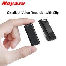 Noyazu N17 мини-диктофон с зажимом маленький диктофон маленький MP3 8G 16G память цифровой Аудио Диктофон