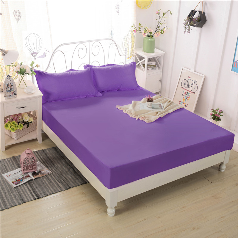 Comfortable And Breathable Mattress Covers Fitted Sheet Bed Bug Proof Waterproof Mattress A Variety Of Colors Are Available ...
