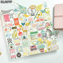 KLJUYP 70pcs Cute Animals Colorful Cardstock Die Cuts for Scrapbooking/Card Making/Journaling Project DIY Craft(China)