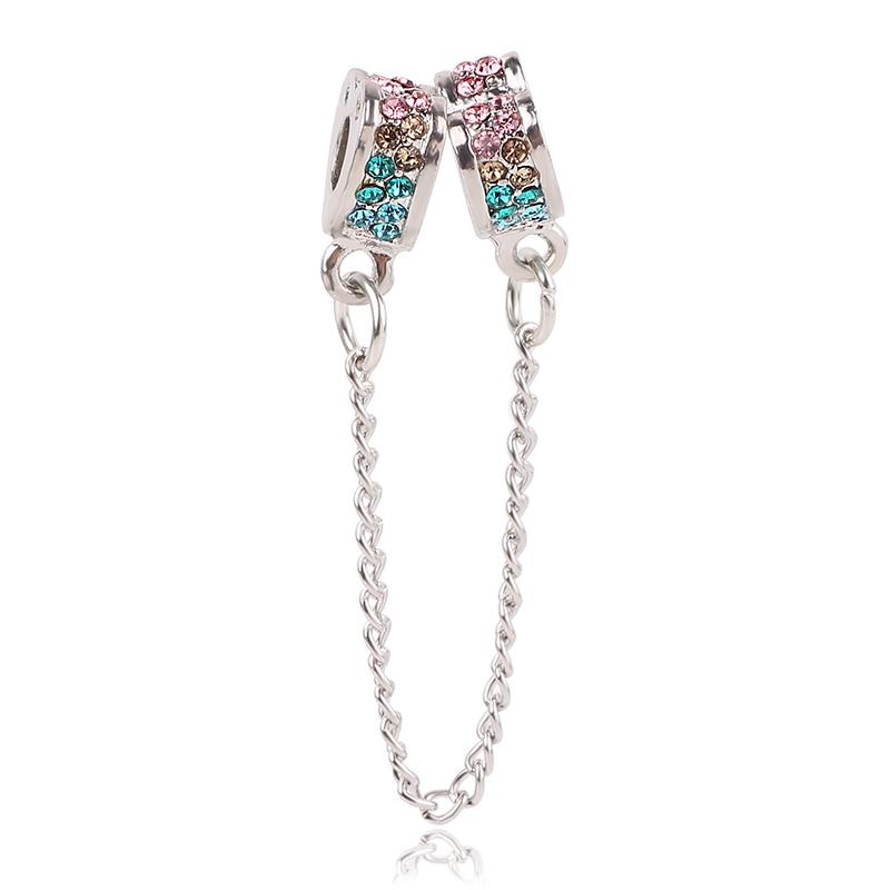 Ranqin Silver Color Love Fashion lovers Beads Fit Original Pandora Charm Bracelet Jewelry DIY Women Gift 12pc/lot