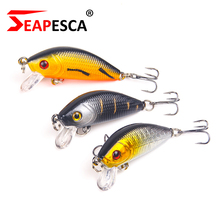 SEAPESCA 50mm 4.2g Wobblers Crank Baits Synthetic Fishing Lure Laborious Bait Floating Bass Pike Fish Swimbait Pesca Isca YA204