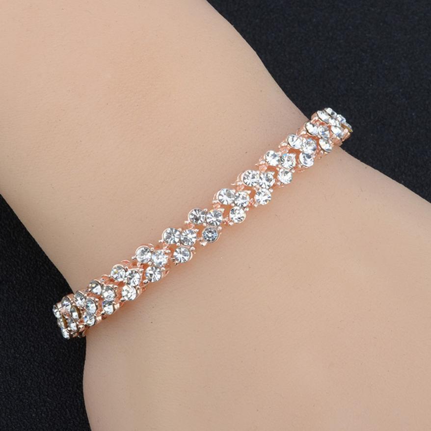 Women's Crystal Bracelet Bracelets Jewelry Women Jewelry