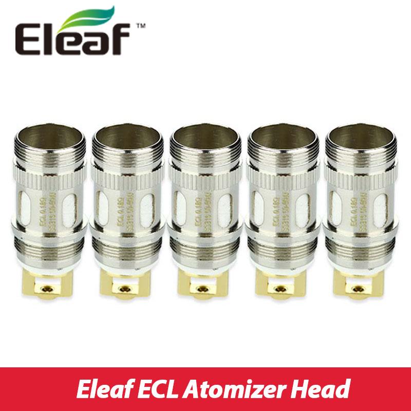 5pcs Eleaf ECL Coil for iJust S/iJust 2/mini/Melo/Melo 2/Melo 3/Lemo 3 Atomizer Coil ECL Coil 0.18ohm/0.3ohm ecig Coils