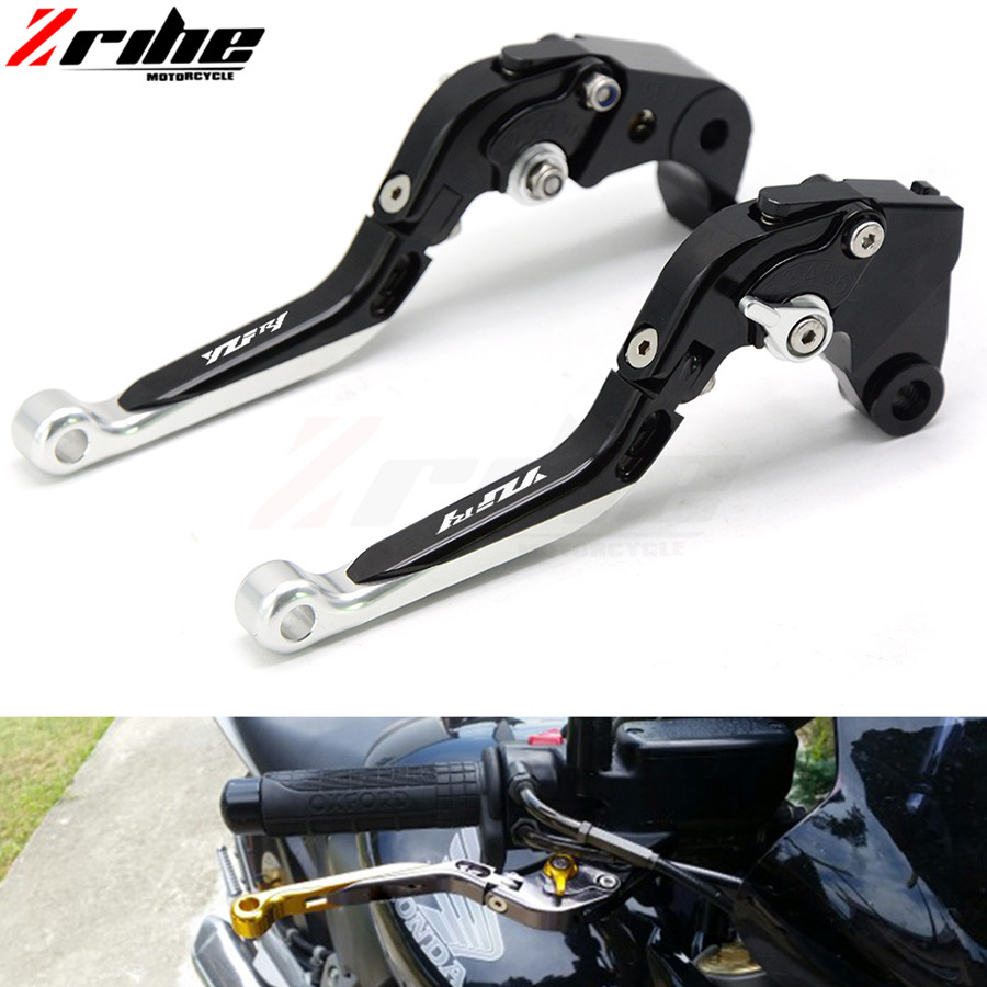 For YAMAHA YZF R1 1999-2001 2000  99 00 01 r1 Motorcycle Adjustable Folding Extendable Brake Clutch Lever logo R1 brake clutch l with logo yzf r1 black titanium cnc adjustable folding extendable motorcycle brake clutch levers for yamaha yzf r1 2002 2003