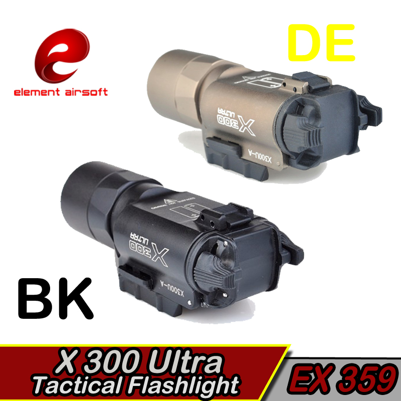 Elemento táctico Surefir X300 LED Arma Luz Waffe lanterna Airsoft - Caza - foto 2