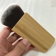 2016 Hot bamboo handle makeup brushes loose powder make up brush Professional makeup essential tool free shipping maquiagem S429