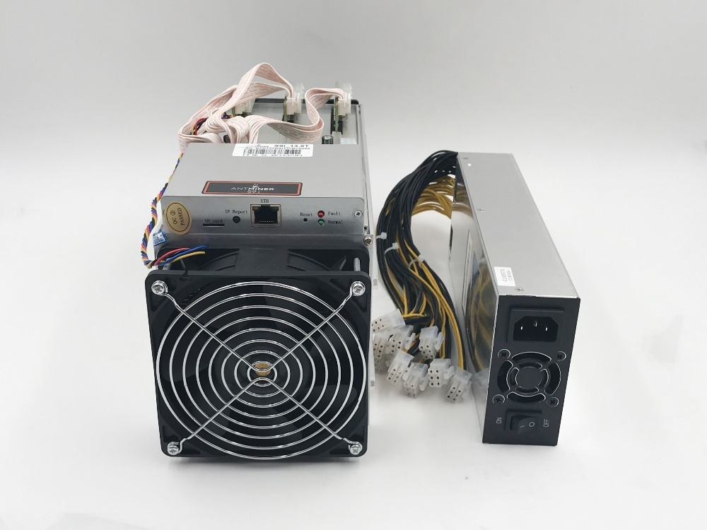 Купить с кэшбэком 85~95% new old minerFree Shpping AntMiner S913.5T Asic miner of BTC BCH 16nm Bitmain Mining Machine form KUANGCHENG