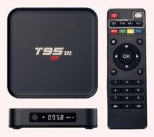 AKASO Android Tv Box T95M 1G/2G (Facultatif) construit en 2.4G WiFi Amlogic S905X 16.0 Android 5.1 Quad Core H.265 4 K Lecteur Multimédia