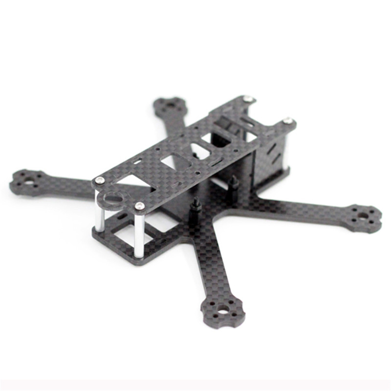 A-max MINI QAV-R 130mm Wheelbase 2.5mm Arm Carbon Fiber FPV Racing Frame Kit 25g For DIY RC Toy Models Racer Quadcopter Drone carbon fiber frame diy rc plane mini drone fpv 220mm quadcopter for qav r 220 f3 6dof flight controller rs2205 2300kv motor