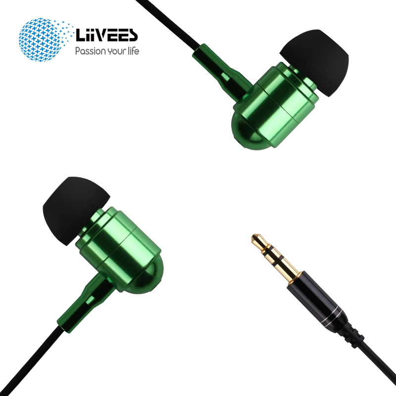LiiVEES M24 In-Ear Wired audifonos Earphones Stereo bass HiFi gaming Headsets with Mic for android phone mp3 PC fone de ouvido