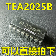 TEA2025 nouveau circuit amplificateur audio double canal TEA2025B(China)
