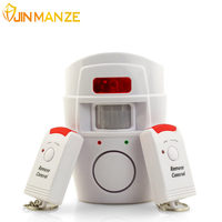 105DB Wireless Home Security PIR MP Alert Infrared Sensor Alarm System Remote Control Anti Theft Motion