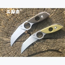 Sanrenmu S615 Fixed Blade Knives 8Cr14 Steel Outdoor Survival Hunting Straight Tactical EDC Knives Camping Tools Cutting blade все цены