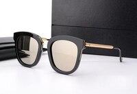 NAZIK MAYA Absente Tek Güneş Gözlüğü Erkek Kadın sürüş gözlük Polarize Vintage Okülo V Logo ve orijinal kutusu Ile güneş gözlüğü