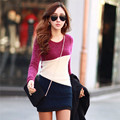 Daisy & Na Slim Winter Women Long Sleeve Knitted Jumper Sweater Tops Pullover Dress Ladies 414