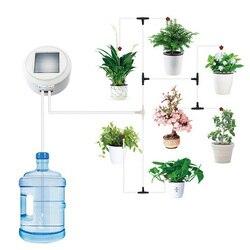 Słonecznej energii automatyczne zegar nawadniania Drip System nawadniania roślin sukulenty inteligentny ogród automatyczne urządzenie do podlewania