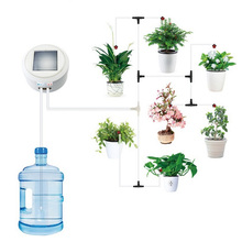 Solar Energy Intelligent Timing Garden Automatic Watering Device Plant Drip Irrigation Tool Water Pump Sprinkler Micro System automatic micro drip irrigation system atomizing sprinkler cooling spray micro sprinkler watering kits gardening watering device