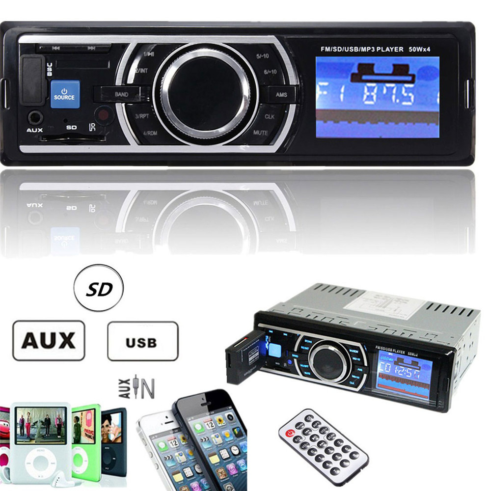 Brand New Car Audio Players 50W x 4CH Auto Car Stereo ...