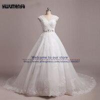 Vestido De Noiva Appliques Lace Wedding Dresses Turkey 2017 Country Western Boho Wedding Dress Real Model