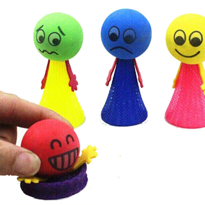 3Pcs Jump Doll Bounce elf Fly Creative Children Kids Baby Educational Toys Gift