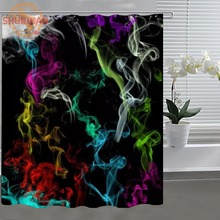 Abstract fog Shower Curtain Eco-friendly Modern Fabric polyester Custom Shower curtain Home Decor H331A50ZB