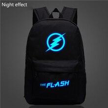 Mode-flash luminous druck rucksack glow freizeit rucksack galaxy animation rucksack schultaschen für jugendliche mochila
