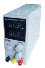 LW 3010D 30 в 10A Мини цифровой Регулируемый источник питания DC импульсный источник питания лаборатория 220 В 110 В EU/AU/US штекер lw3010d