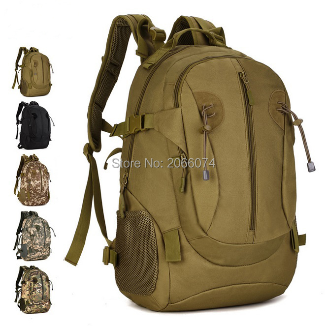 da20c94229cd 5Colors 40L Outdoor Sports 3P Bag Tactical Military Large Backpack  Rucksacks For Explorer Camping Hiking Trekking Gym 20pcs-in Climbing Bags  from Sports ...