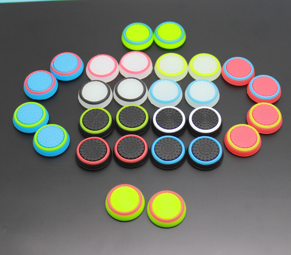 2000pcs Aalog Stick Covers for PS4 PS3 for Xbox One Xbox 360 Thumb Grips