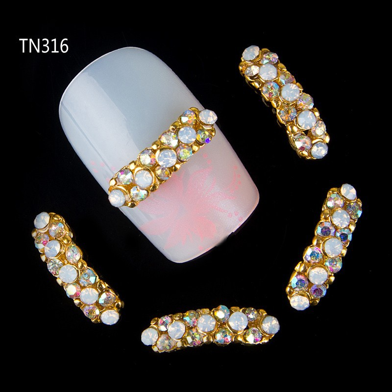 10pcs 3d strip glitter rhinestone decoration for nails art crystle jewelry charm nail stud tips nail tool accessories suppliers 10pcs gold 3d rudder metal flower pearl music note mixed rhinestones cross nail art decoration jewelry nails supplies y180 187