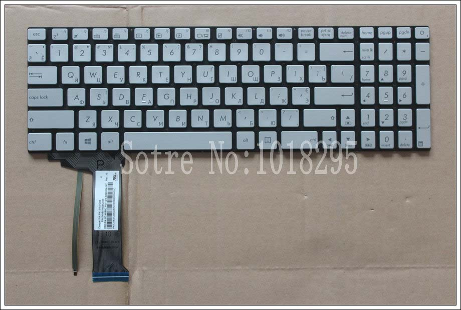 все цены на FOR ASUS GL552 GL552J GL552JX GL552V GL552VL GL552VW N551 N551J N551JB N551JK N551JM N551JQ backlit Russian RU laptop keyboard онлайн