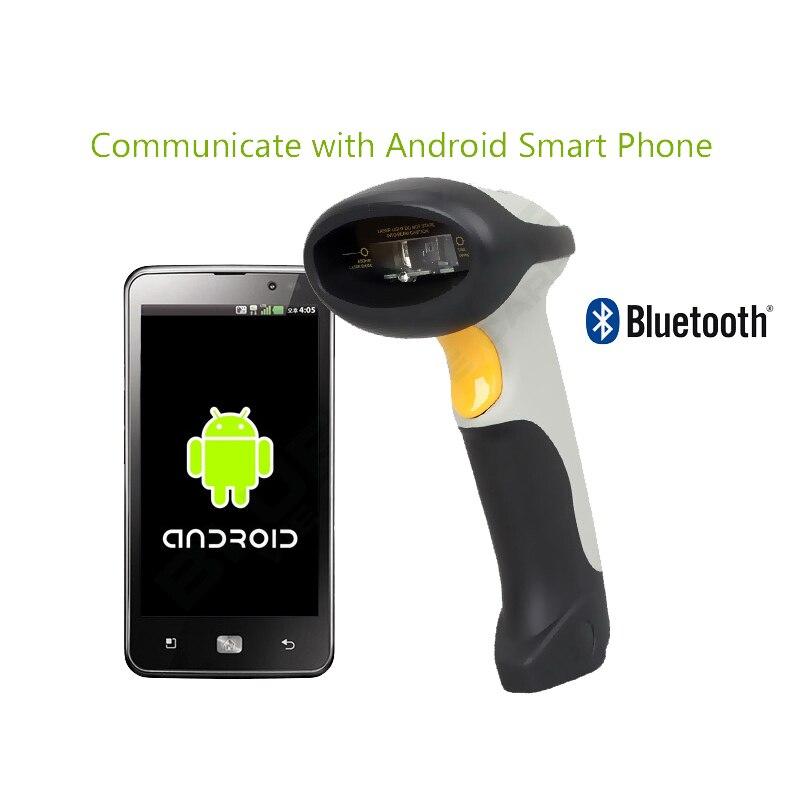 Blueskysea CT10X Беспроводной 1D сканера штриховых кодов Bluetooth лазерный свет USB проводной 1D сканер Портативный Ручной считывания штрих-кода