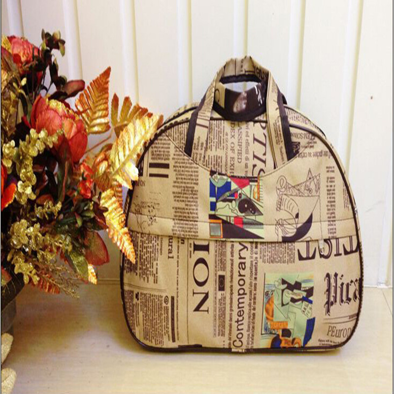 bolsa de viagem bolsa grande Estilo : Estilo Preppy