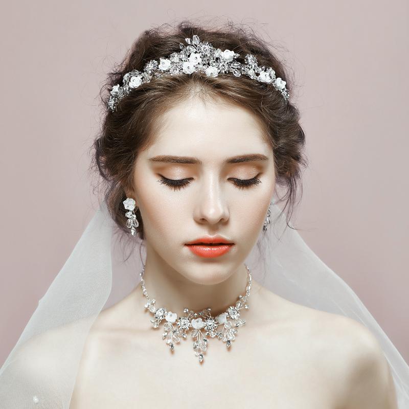 Enjoyable Compare Prices On Wedding Tiara Set Online Shopping Buy Low Price Hairstyles For Women Draintrainus