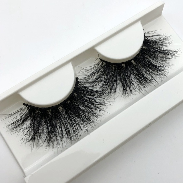 f8648bd18e4 Mikiwi 25mm Long 3D mink lashes extra length mink eyelashes Big dramatic  25mm Mink Lashes 3D Mink 100% Cruelty free Handmade