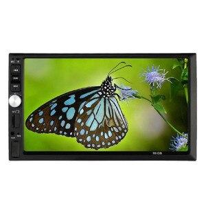 Image 3 - راديو سيارة 2020 MP3 MP5 مشغل موسيقى الصوت مزدوج 2 Din ستيريو سيارة MP5 مشغل MP3 راديو بلوتوث USB AUX + كاميرا وقوف السيارات جديد