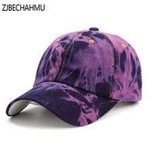 Primavera Casual Vintage sólido Denim gorras de béisbol para hombres  mujeres sombreros de verano Hip Hop 17d313038f33
