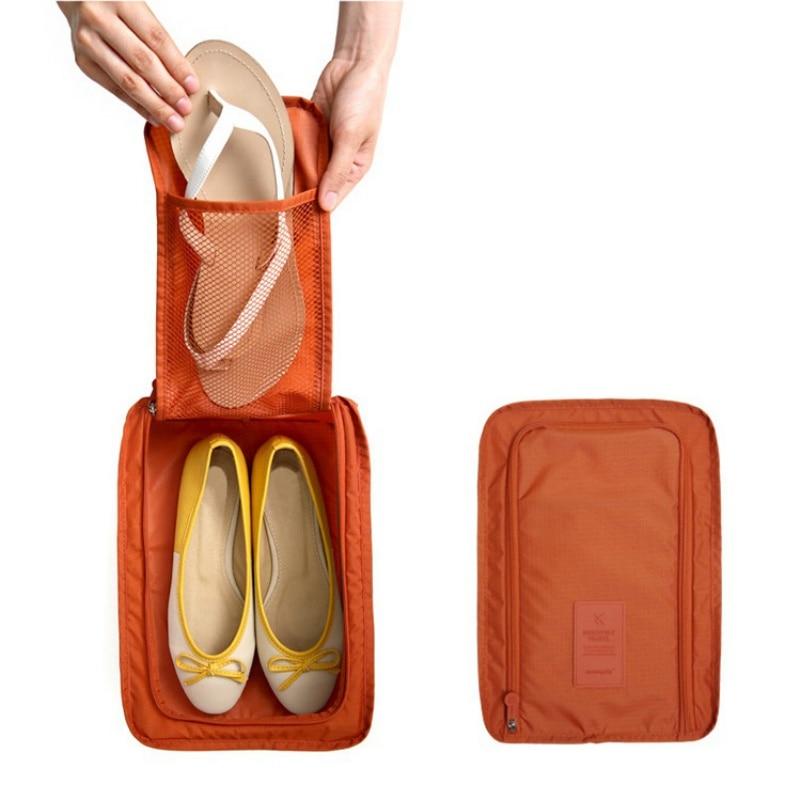 6 цветов нейлон путешествия Сумки для хранения ноутбука Организатор Обувь Организатор Сумочка Портативный Классификация Сумки lm76