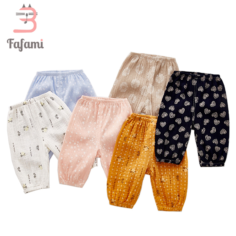 Baby Pants Anti-mosquito for Newborn baby clothes Light Cotton baby leggings girl boy pant Baby Summer clothing bloomers bebe