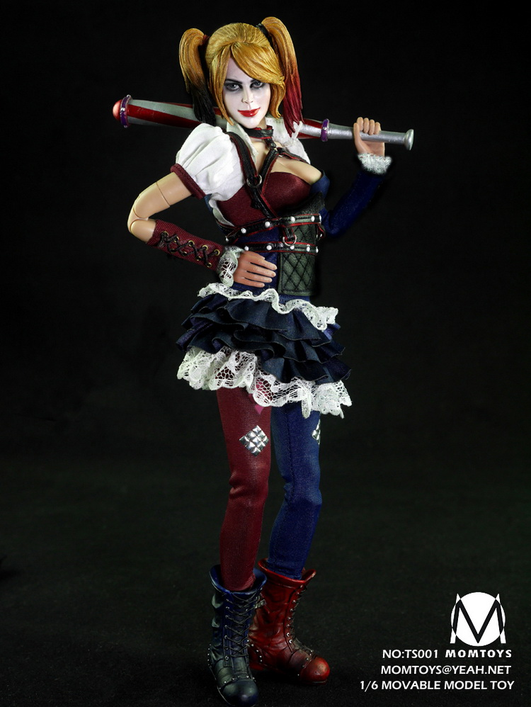 1/6th scale figure doll Collectible model plastic toy Suicide Squad female Joker Harley Quinn 12 Action figure doll 1 6 scale figure doll terminator3 rise of the machines fembot t x 12 action figure doll collectible model plastic toy