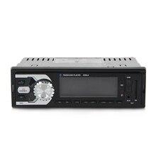 Car Stereo Radio Bluetooth Reproductor de MP3 USB/Sd/Aux/FM Din Individual con Control Remoto Multifunción Vehículo Bluetooth MP3 jugador