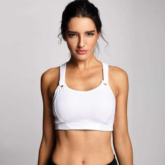 lightly padded sports bra