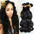Unprocessed 8A Peruvian Virgin Hair Body Wave Human Hair Weave King Hair Products Sell Peruvian Hair Extension 3pcs lot