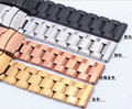 Promotion  Gold Stainless Steel Watch Band Strap Mens Metal Bracelets18mm 20mm 22mm 24mm High Quality Hours Replacement rosegold