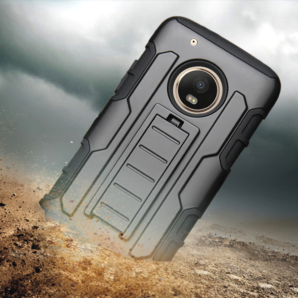 Heavy Duty Hard Armor Case Holster Belt Clip Cover For Motorola Moto G3 3rd Gen/G4 Play G5/E3 E4 Plus/X Z Z2 Force Play Droid