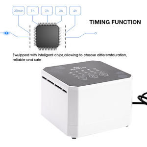 Image 4 - Negative Ion Generator Air Purifier For Home office Active Carbon HEPA Filter Desktop Mini Air Ionizer Compact Air Cleaner