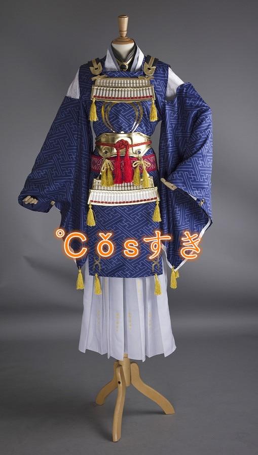 ¡Envío gratis! ¡El más nuevo! Touken Ranbu en línea Mikazuki Munechika Kimono Cosplay, perfecto personalizado para ti!