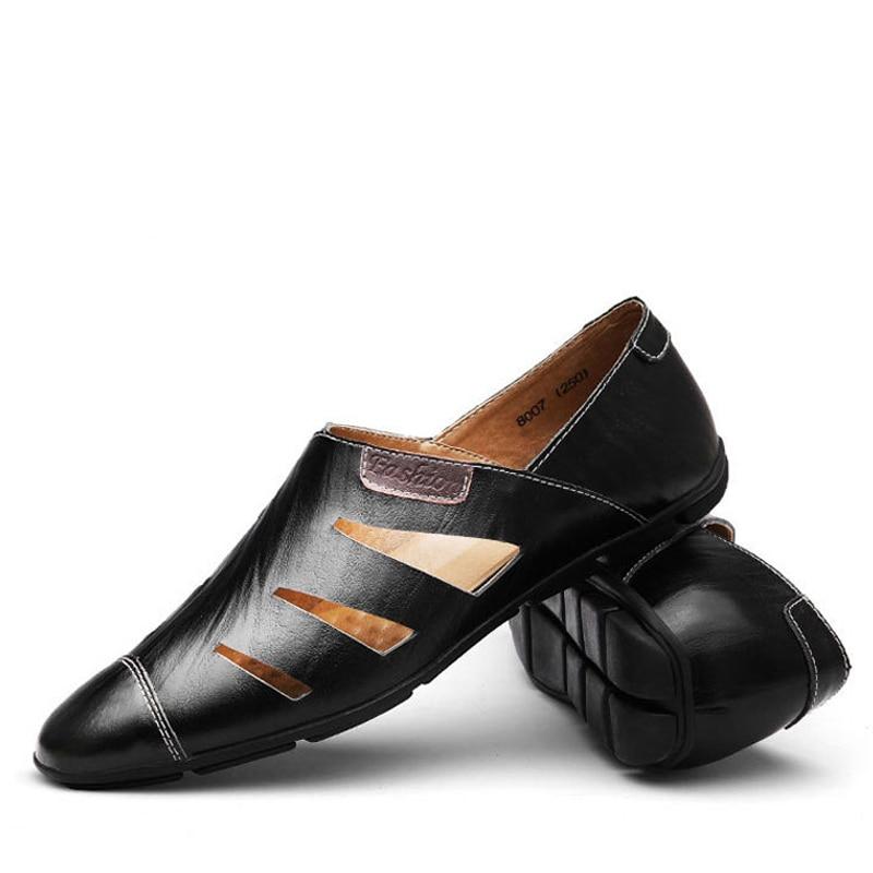 Véritable Hommes Grande brown À Taille De Black Chaussures Npezkgc Main ChaussuresCréateur Mode 38 blue Cuir Casual Mocassins 47 Nouveau En La 7ym6gvYfIb